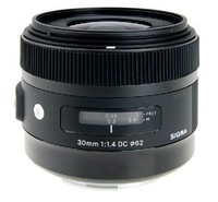 The lens for Sigma 30mm F1.4 DC HSM (A) wide-angle fixed focus lens new listing for canon or nikon SLR