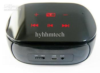 Wholesale - YJ Freeshipping UE Portable multimedia card bluetooth speaker mini speakers boombox hifi Wireless Bluetooth stereo S
