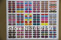 nail art water decals bear nail decoration 90pcs/lot  free shipping 18 styles Nail Wraps  Nail Stickers