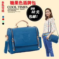 New arrival 2013 small bag summer fresh candy color shoulder bag messenger bag female bags