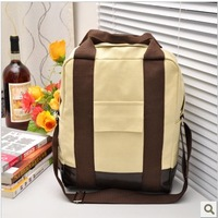 Bags 2013 women's handbag fashion preppy style backpack multifunctional backpack canvas school bag