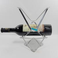 Stainless steel wine rack wine bottle holder