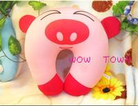 Cute Cartoon cat Pattern Design Travel car home pillow, U shape Neck pillow / rest pillow