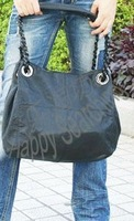 Women's handbag bag women's handbag suede shoulder bag d296-9 black