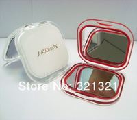 Square Shaped Acrylic Makeup Pocket Mirror in High Transparence, High Class Cosmetic Compact Mirror for Lady