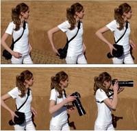 Free shipping 100pcs Quick Neck Shoulder Strap Belt For Camera Canon Nikon Sony Pentax Olympus Panasonic