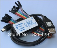 Logic Analyzer USB Saleae 24M 8CH Saleae 24MHz 8 Channel  saleae  Latest support 1.1.16   Free shiping