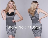 Supernova Sale 3pcs Free shipping Magic shapers underwear charcoal slimming suits pants bra bodysuit body shaping clothing MM135