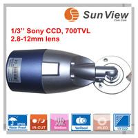 SunView 700TVL Support Day/Night waterproof OSD menu digital WDR waterproof CCTV cctv camera sony(SV-BO702VW)