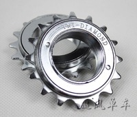 Fixed gear flywheel 16t  18t bicycle bike flywheel 1.37""