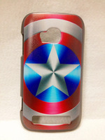 Captain America - Hard Back Case Shell Cover Protector for Nokia Lumia 710 N710