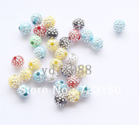Free shipping500pcs Mixed Acrylic Spacer Ball Beads 5mm Dia F001