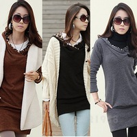 BEST FASHION PACKAGE HIP LONG-SLEEVED HOODED DRESS WF-41518