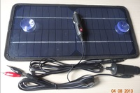 8.5w12v solar car charger car charger mobile phone charger