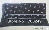 FREE SHIPPING,silk scarf,patchwork shawl,muslim hijab,high quality scarf,embroidery silk scarf,50*180cm