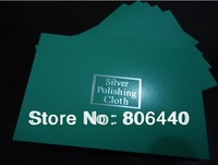 New arrival ! 11x7cm  Flannelette Silver cleaning cloth silver polishing cloth  ----1000 PCS/lot