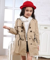 Medium-large girls clothing Autumn spring 2013 girl princess fashion children coat clothes girls kids outerwear clothing
