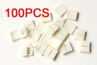 1000 pcs Lot 1000x Mini 4-PIN RGB Connector for 3528 5050 RGB LED Strip Solderless