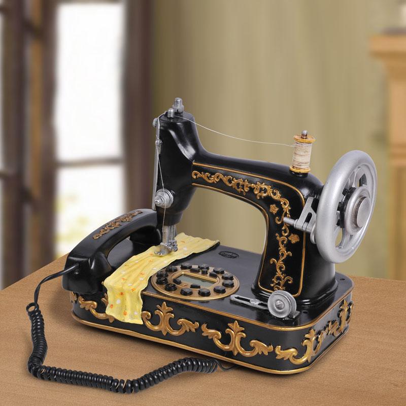 Free shipping/Best selling/Telephone personalized sewing machine/ telephone antique /telephone caller id(China (Mainland))
