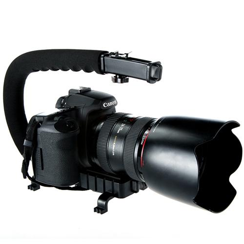 Fotga Mini Camera Suction Mount Tripod Holder Car