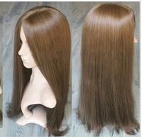 free shipping Healthy Human Hair Full Wig long hair wig