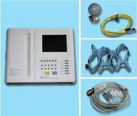 Professional 12 Channel ECG / EKG Machine with Printer and Paper and USB Software 1200F