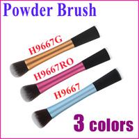 1 pc New Professional Powder Blush Brush Foundation Brush Makeup Tool Round Top Free Shipping Wholesale
