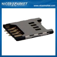 Free Shipping 50pcs/lot SIM Card Holder Tray For Samsung Galaxy Nexus i9250 Sim Card Reader