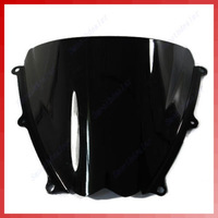 Free Shipping 1PC Motorcycle Windshield Windscreen For Suzuki GSXR 1000 07-08 K7 Black