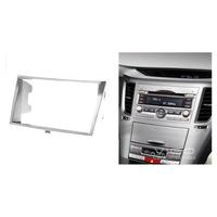 11-096 Car Radio Facia for SUBARU Legacy Outback Stereo Dash Fitting Kit CD Install Fascia Face Plate Surround Panel Frame 2 DIN