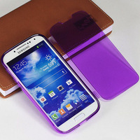 1pcs/lot New Crystal Clear Soft TPU Flip Case For Samsung Galaxy S4 mini i9190 Protector Skin Back Cover Gel Case full protect