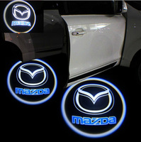 5TH GENERATION 7W LED DOOR LOGO SHADOW LIGHT CAR LED LOGO FOR MAZDA WITH FREE SHIPPING