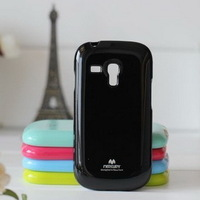 Wholesale Free Shipping - Mercury Color Jelly Case for Samsung Galaxy S3 mini i8190 & Retail Package, 11 Colors (SX138)