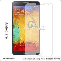 for Samsung Galaxy Note 3 N9000 N9002 , non fingerprint Matt /Anti-Glare  transparent Screen Protector without retail pa