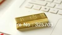 Wholesale, hot metal bullion simulation model 4 gb, 8 gb, 16 gb, 32 gb flash drive usb 2.0 / Memory Stick /car/ thumb / Gifts