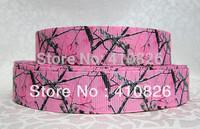 WM ribbon 7/8inch 22mm 99015 tree Printed grosgrain ribbon 50yds/roll free shipping