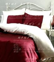 Silk four piece set silk bedding silk bedding 100 mulberry silk bedding