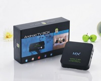 internet tv box Amlogic MX Dual Core Cortex A9 WiFi Smart TV IPTV Box DDR3 Android support 1G Ram and 8G Rom HDMI 1080P