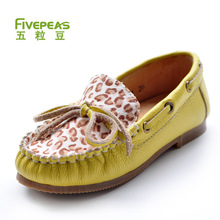 Gommini loafers genuine leather child shoes girls princess shoes children parent-child shoes female child leather(China (Mainland))