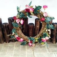 Rustic fashion artificial flower artificial flower silk flower living room decoration door trim decoration garland