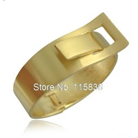 Europe exaggerated fashion street star gold bangles metal wide bangles bracelets women cuff bracelet 2 colors cxt91534