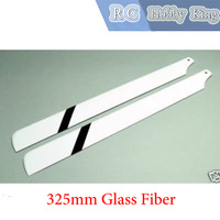 450 RC helicopeter parts 325mm / 325 Glass Fiber / FG main blade Helicopter Mainseries hel Blade for 450 1pair free ship boy toy