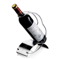 fashion high quality arc line red wine bottle holder rack