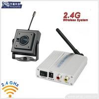 2.4G Wireless Mini CCTV camera with wireless receiver Kit