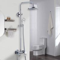 copper shower set