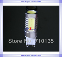 AC 85-265V 5W 360 degree QiLi COB 9X21 T12 5pcs*1W LED Chip for g9 mini led ceramic bulb and g9 led small bulb lighting