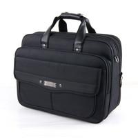 16 - 17 oxford fabric commercial laptop bag handbag shoulder bag messenger bag plus size thickening briefcase