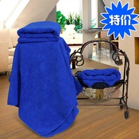 Ultrafine fiber super soft quick-drying 300 velvet bath towel 2 dry hair towel