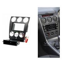 11-106 Car Radio Facia for MAZDA 6 Atenza Stereo Dash Kit Fitting Trim Installation Fascia Face Plate Surround DVD Panel Frame