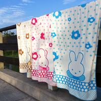 38 plus size thickening bath towel cartoon bath towel ultrafine fiber sanded waste-absorbing 75 150 soft